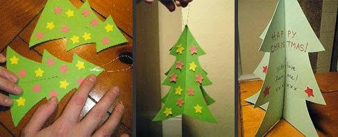 Decorate tree paper