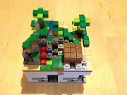 Minecraft LEGO set in Minecraft PE