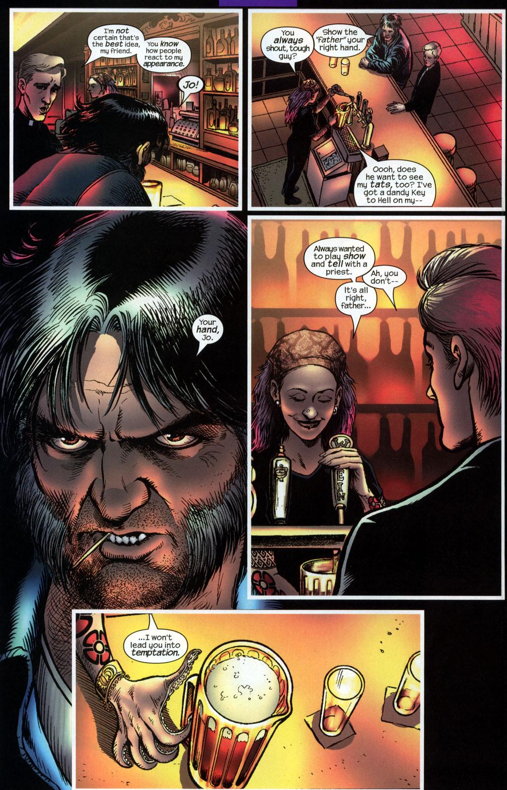 Read online Wolverine (2003) comic -  Issue #6 - 7