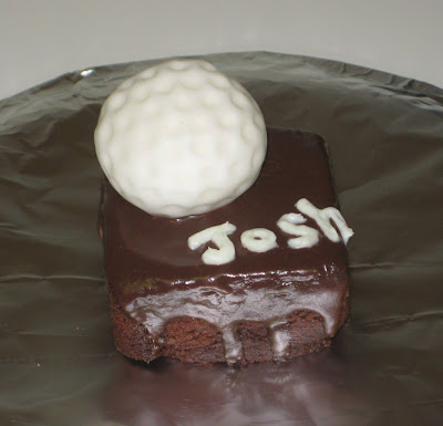 Golf Ball Mini Cake