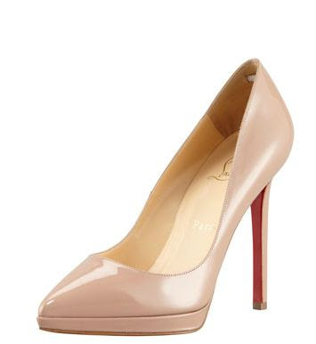 Louboutin nude pump, pigalle, nude pumps, Christian Louboutin