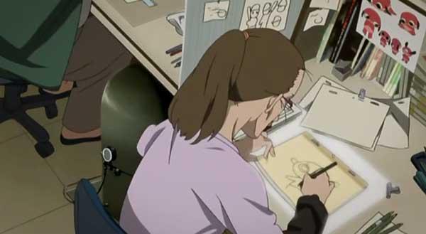 Paranaoia Agent - proses pembuatan anime