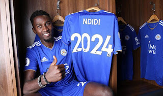 EPL: Nigerian World Cup star, Wilfred Ndidi signs new contract with Leicester City