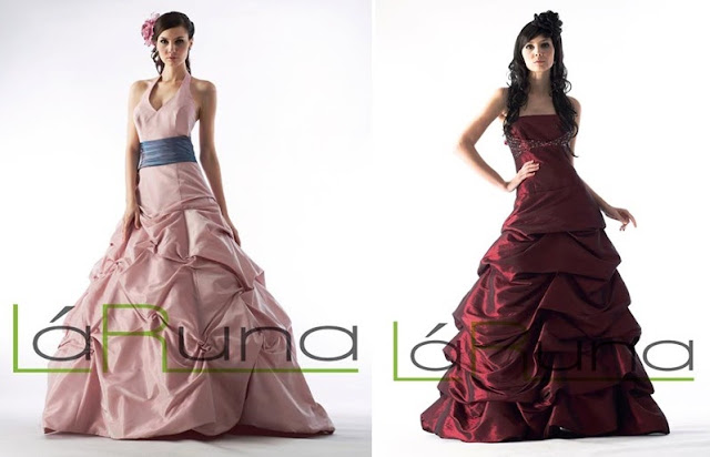 ballgown with multilayers