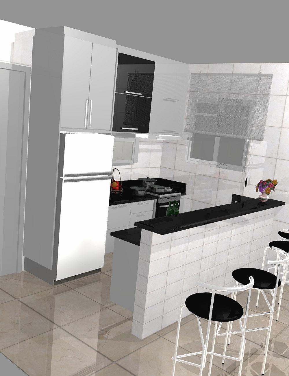 Cozinha Pequena Simples E Moderna Cozinha Pequena Simples E