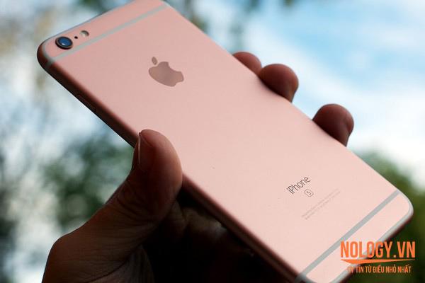 iPhone 6s màu vàng hồng