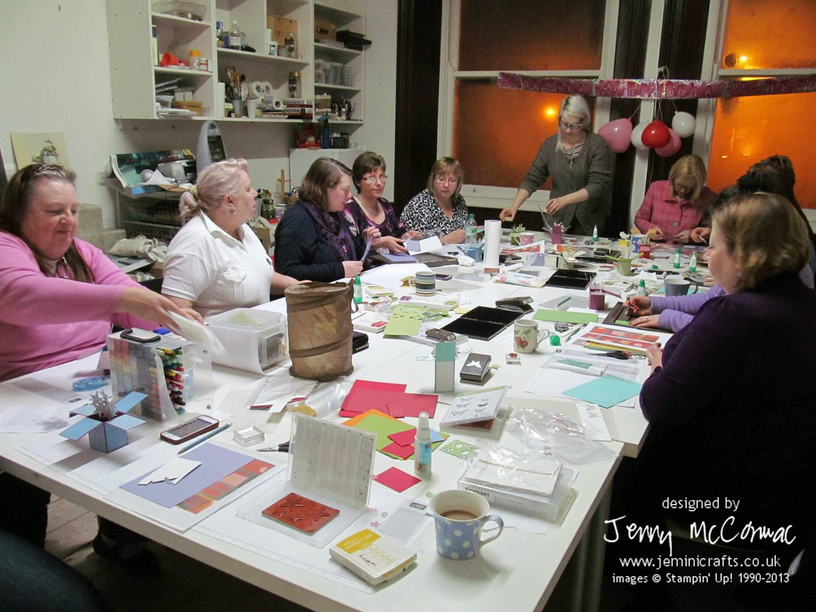 Jemini Crafts Card Classes in Brackley, Northamptonshire