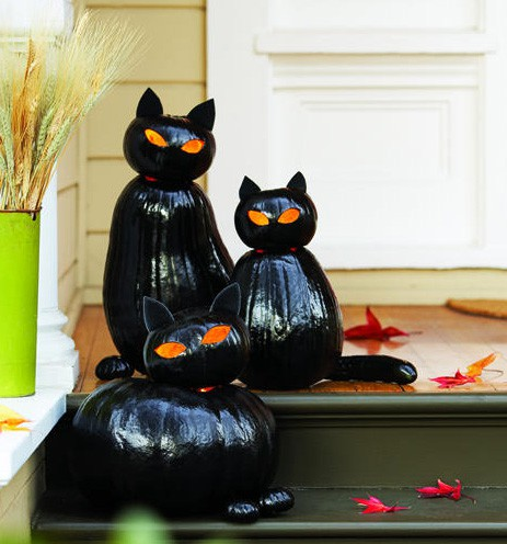 Home Quotes: 20 Halloween pumpkin craft idea: Easy last - Cute Witch Decorations