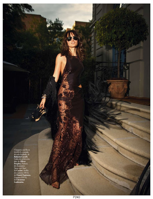 Fashion Model, @Tania Onishchenko for ELLE Spain