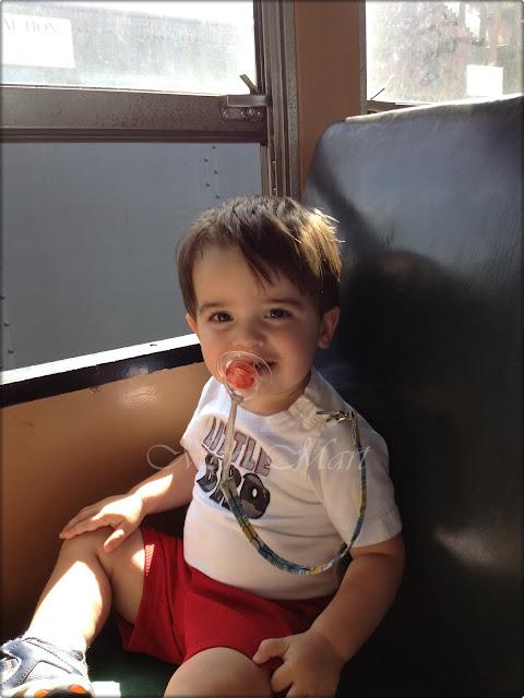 Riding on the Thomas Train