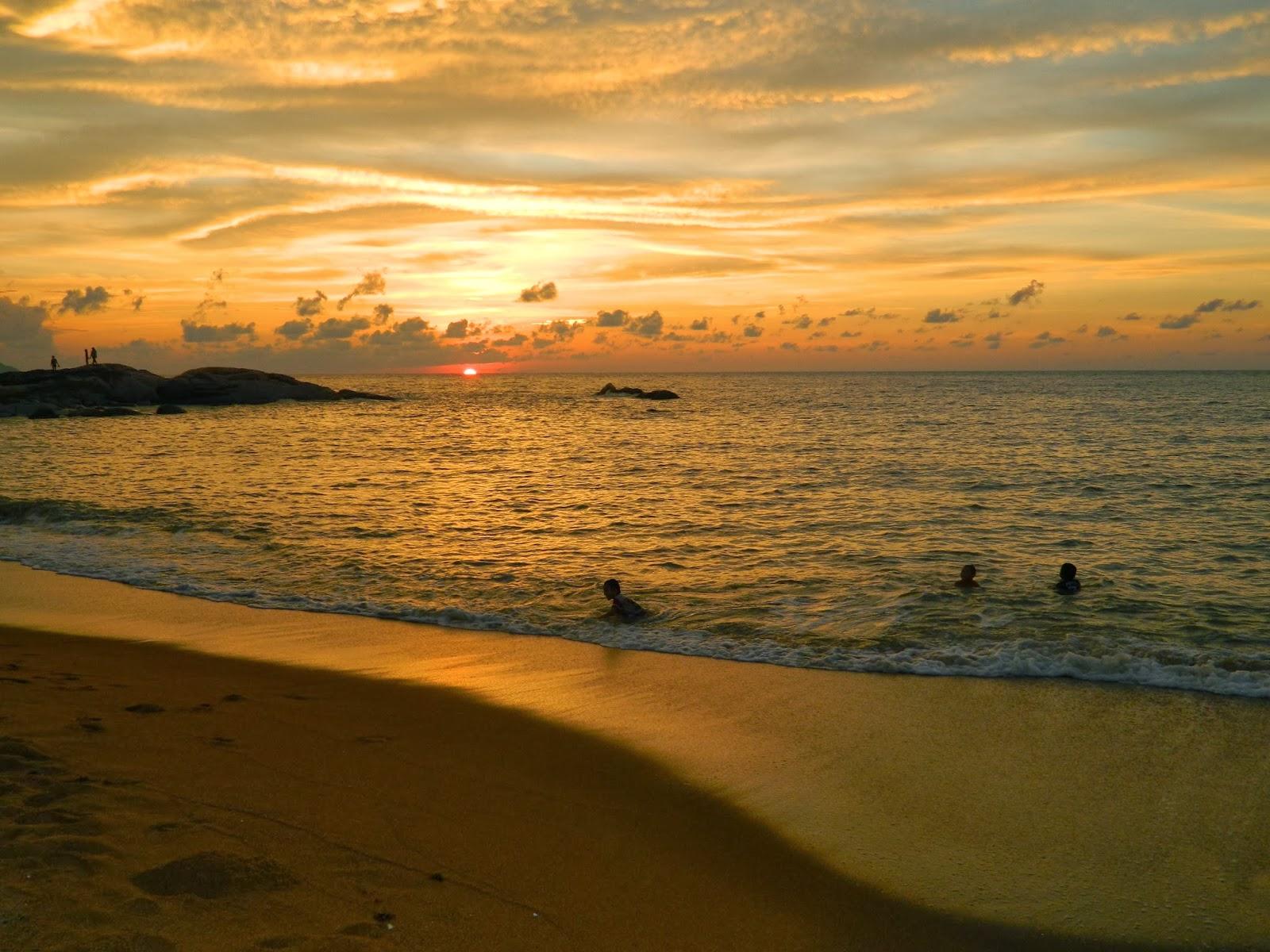 Sunset di Tanjung Bajau Singkawang