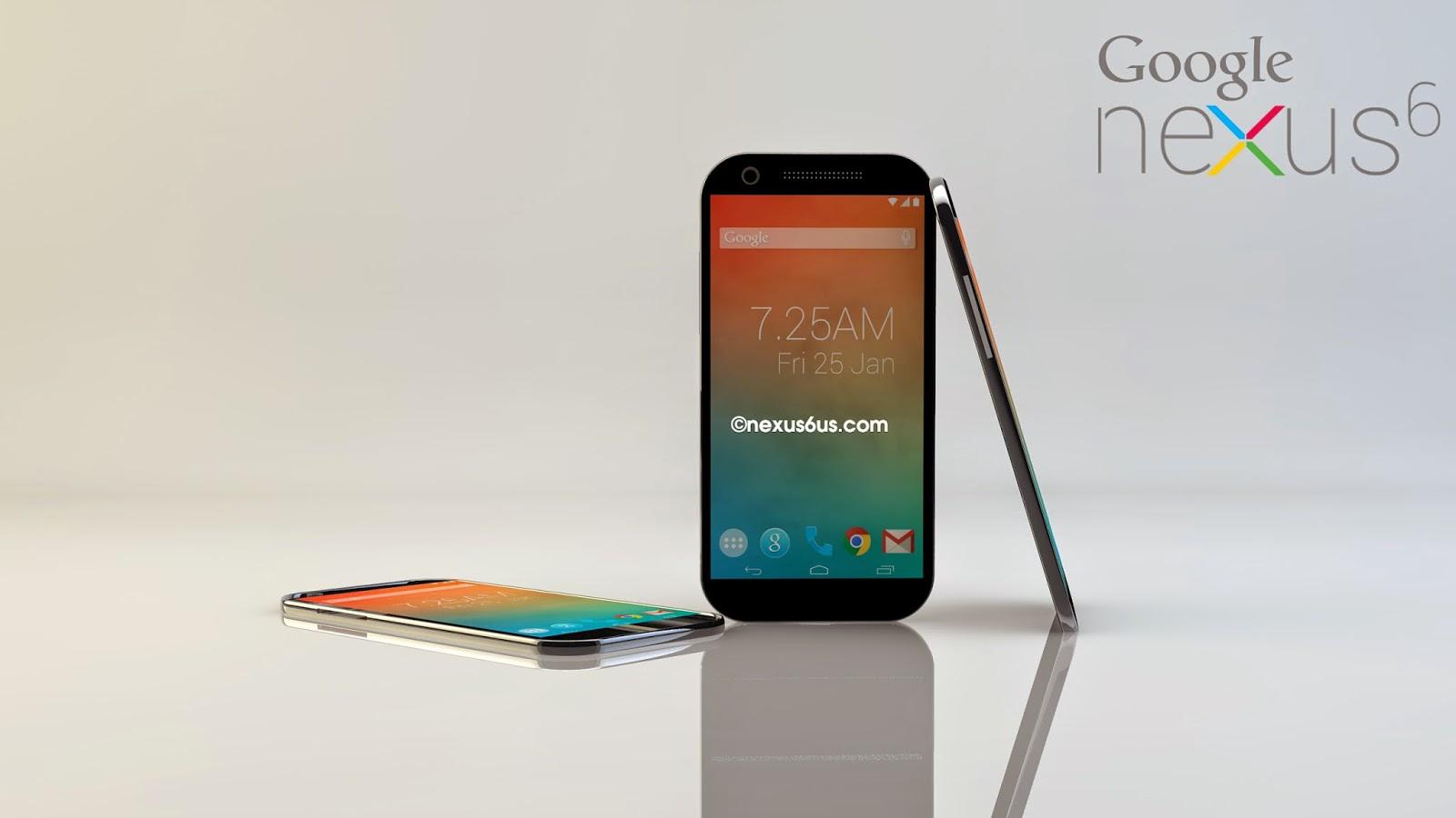 Rumores del Nexus 6
