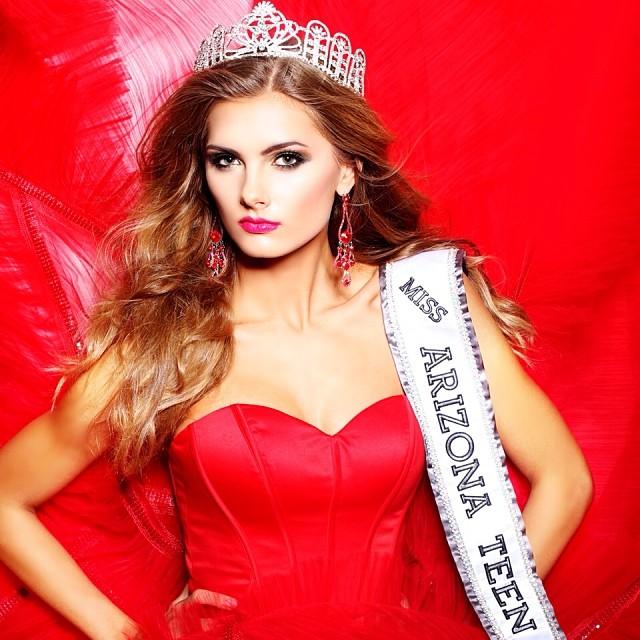 MISSES DO UNIVERSO: Miss Arizona Teen USA 2014 - Savannah Wix