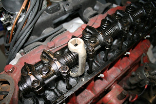 Example of the special Cylinder head bolt spanner Volvo 122S