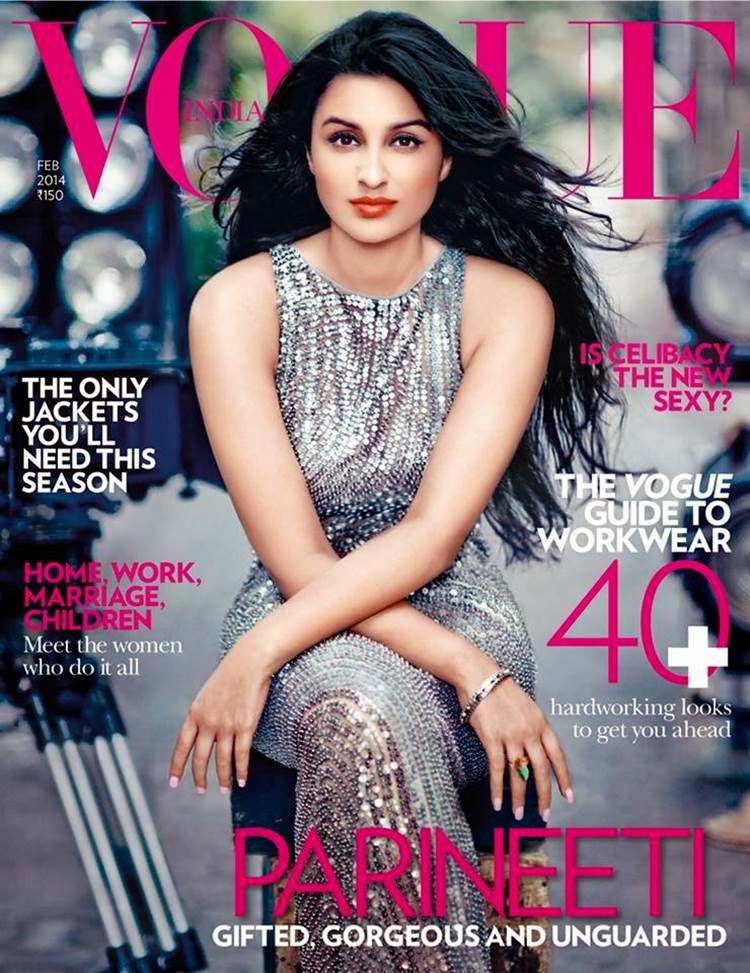 Gorgeous Parineeti Chopra on Vogue Cover