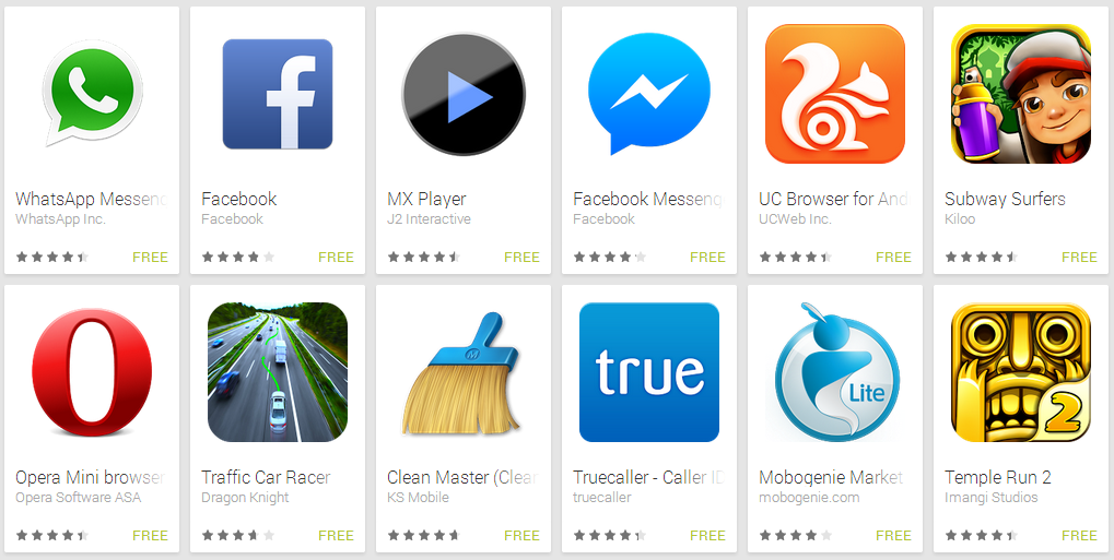 top android app download