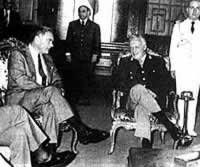 Videla con Haig (Secretario de Estado de EE UU)