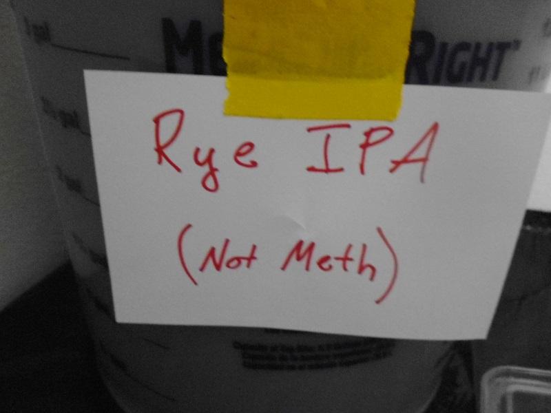 Rye IPA not meth