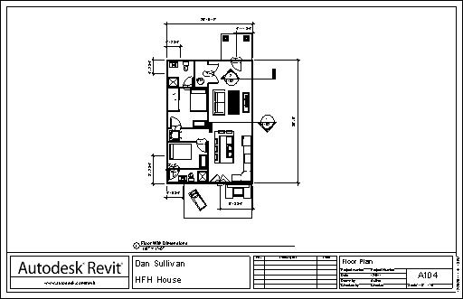 Revit Cover Sheet for Floor Plans