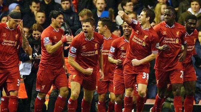 Liverpool vs Arsenal 5-1 Premier League February 8, 2014