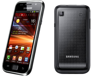 samsung galaxy s plus black