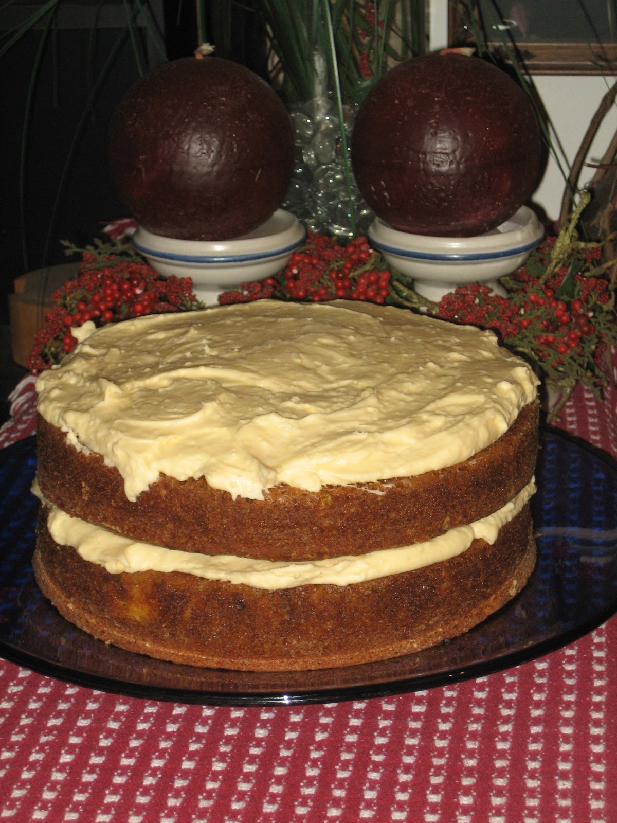 the Experimental Spoon: Spiced Pumpkin Layer Cake with ...