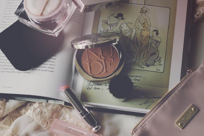 DIOR Diorskin Nude Tan Matte Sun Powder - With Kabuki Brush aimerose beauty blog review