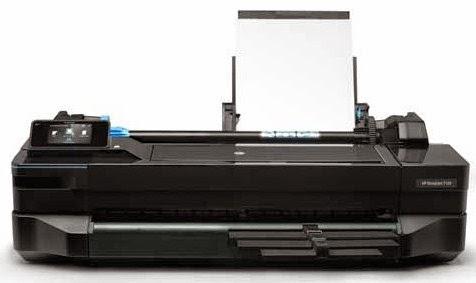 HP DesignJet T120 ePrinter Drivers Download