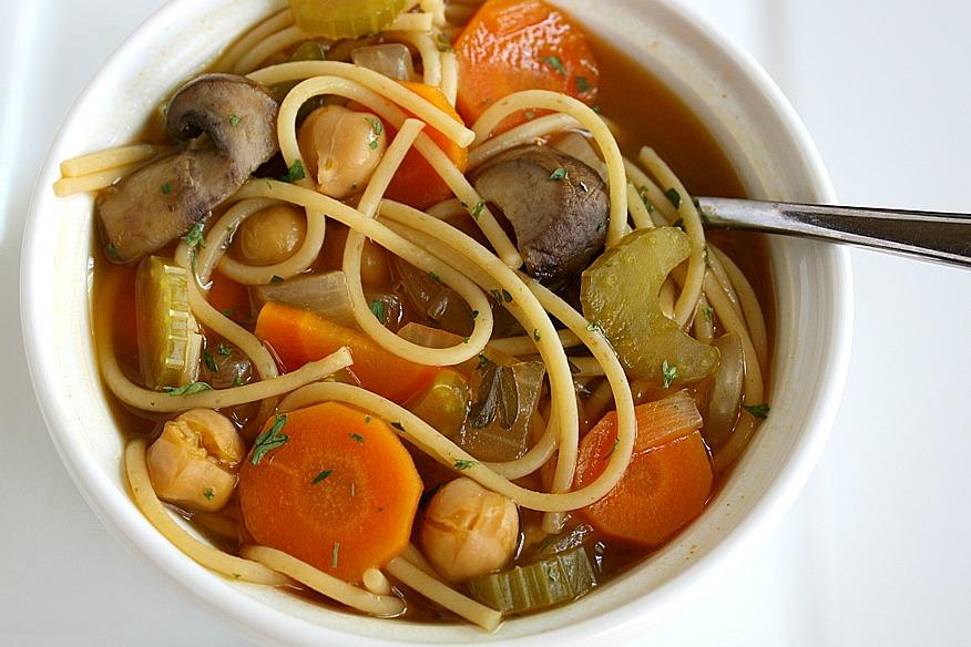 noodle soup ultimate chickpea noodle soup use chickpea soup noodle ...