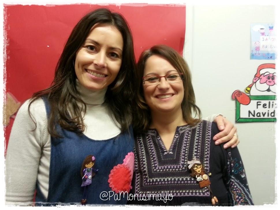 Maestras con sus broches @pamonisimayo
