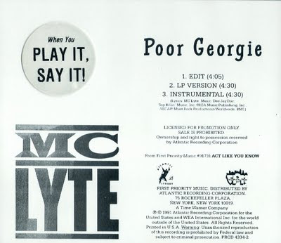 MC Lyte – Poor Georgie (Promo CDS) (1991) (320 kbps)