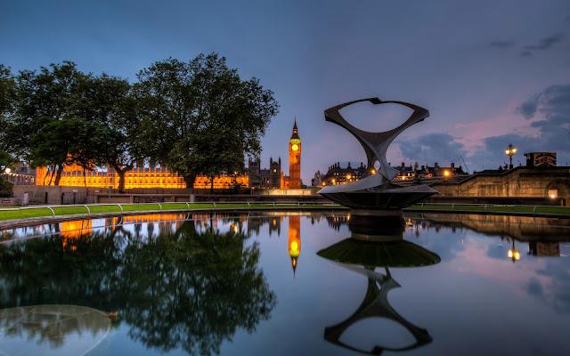 Imagenes de Big Ben Ciudad de Londres en la Noche