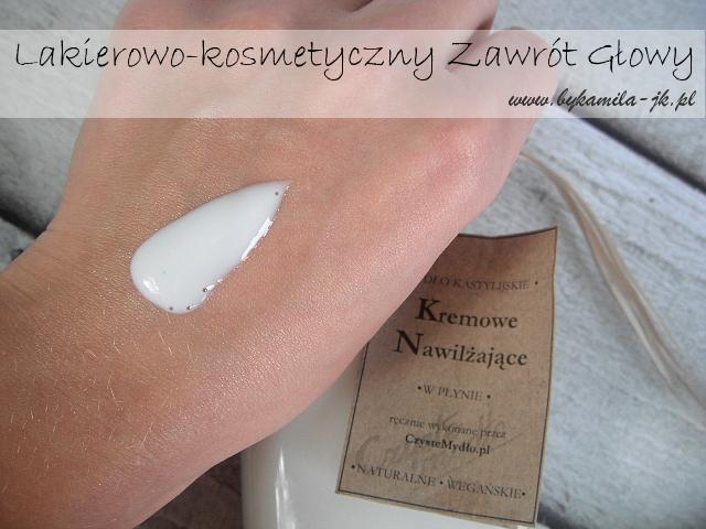 Czyste Mydło naturalne kastylijskie kremowe mydło w płynie