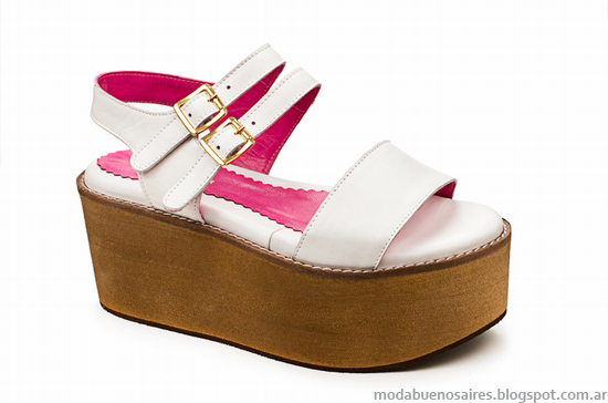 Laura Constanza 2014 verano sandalias y zapatos.
