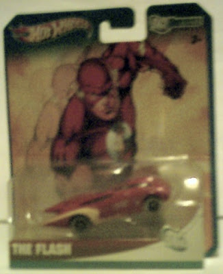 Front of The Flash Hot Wheels