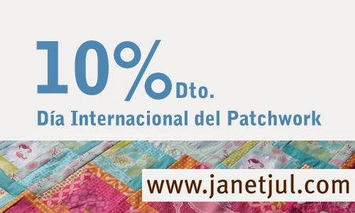 Día Internacional del patchwork en Jan et Jul