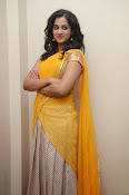 Nanditha raj latest photos in half saree-thumbnail-16