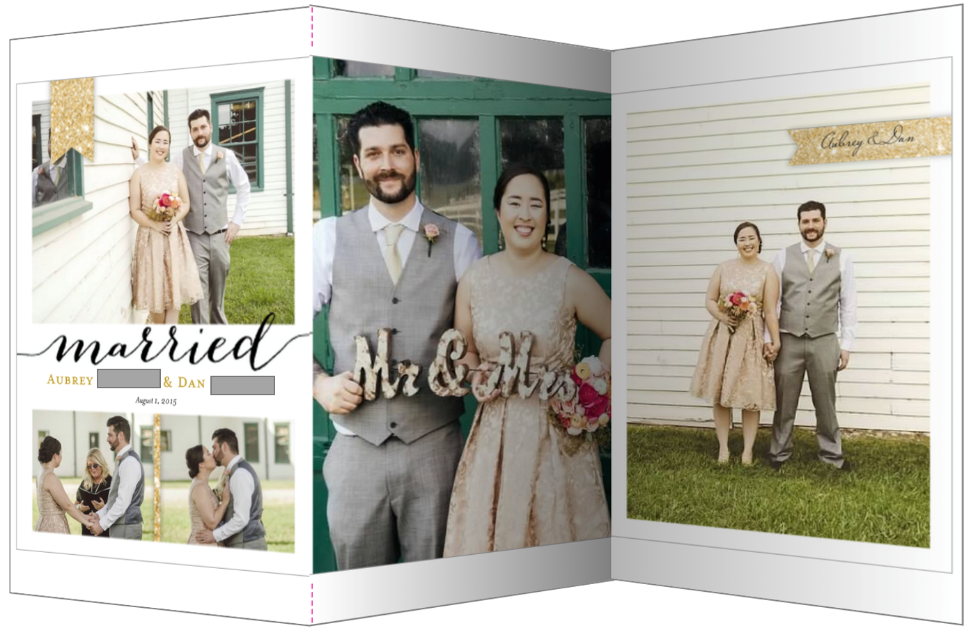 personalized wedding thank you notes%0A Always aubrey wedding announcements and thank you notes for our thank you  cards i used the