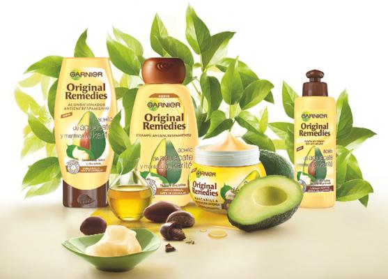 Garnier Original Remedies Aguacate y manteca de Karité