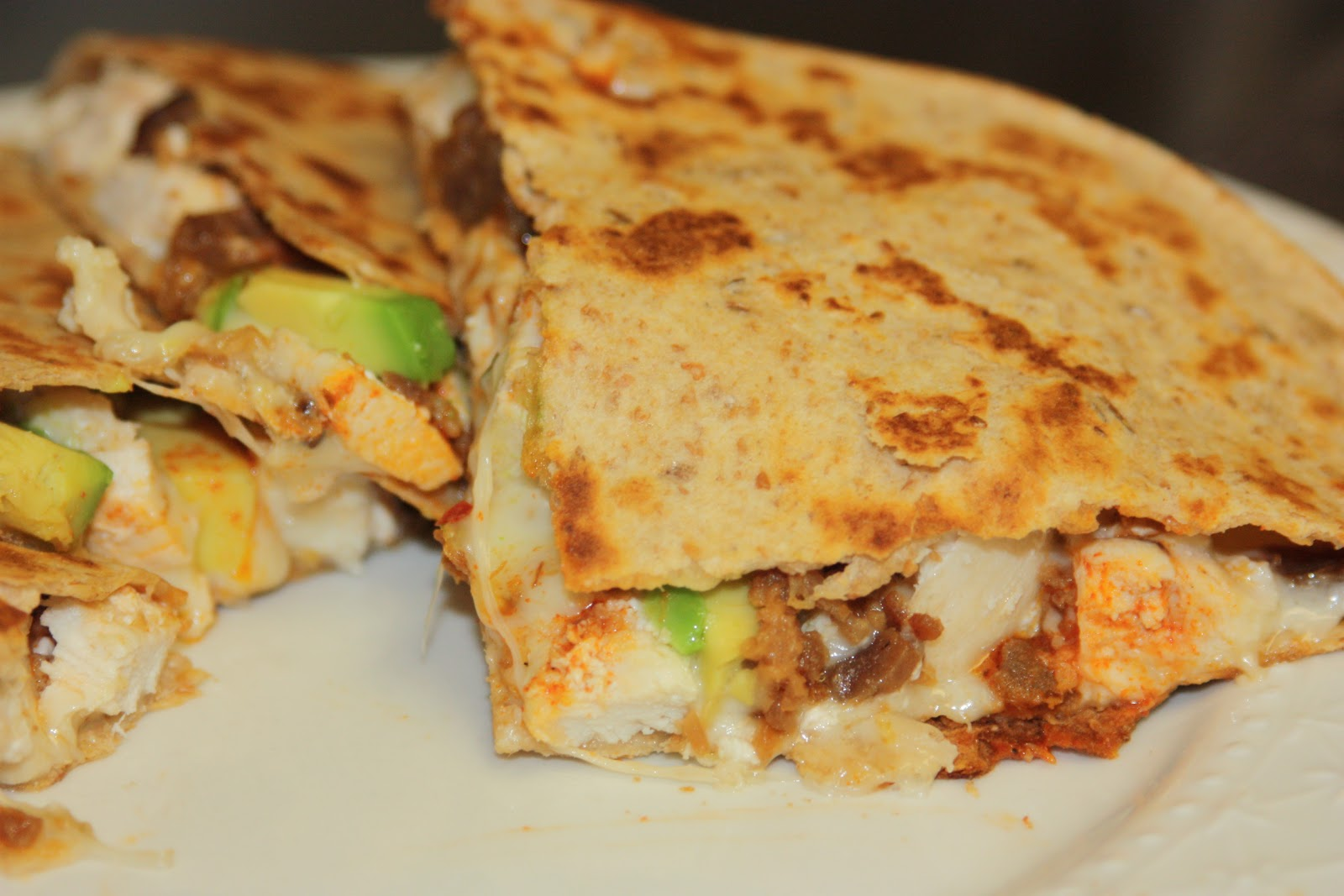 My Recipe Box: Chicken Bacon and Avocado Quesadillas