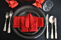 Vegetarisk fyrarätters meny
