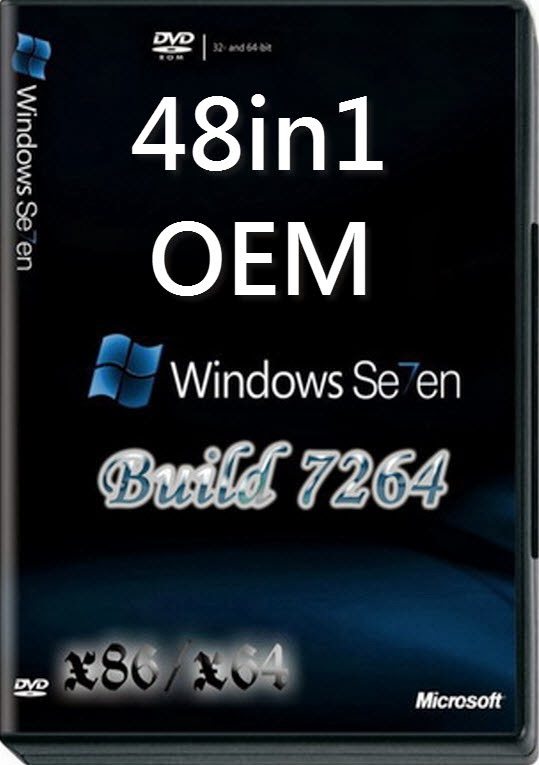 Download Windows 7 AIO x86 x64 OEM Terbaru 2014