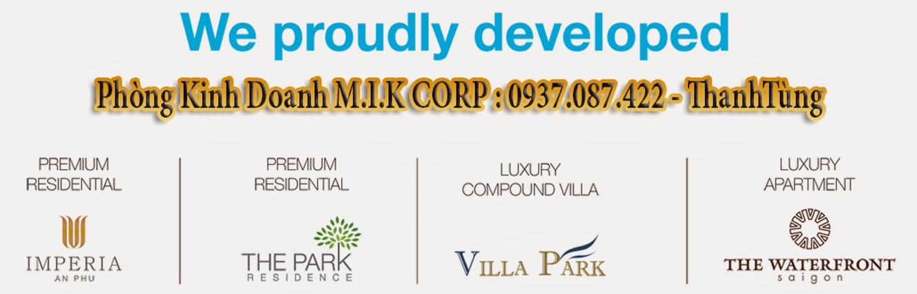 M.I.K proudly developed: