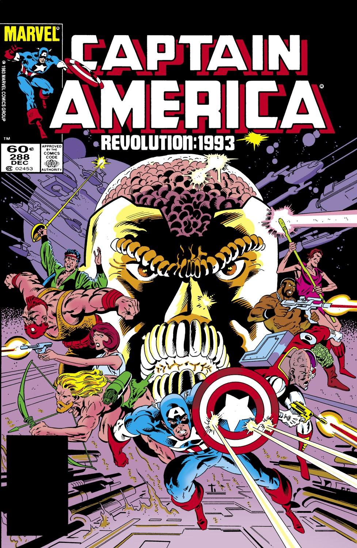 Captain America (1968) Issue #288 #204 - English 1