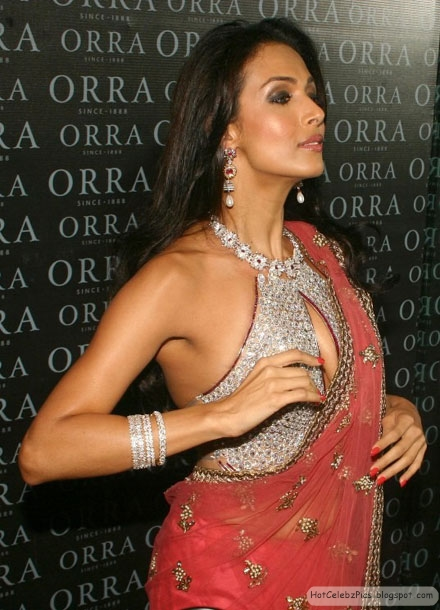 Malaika Arora Khan Hot in saree