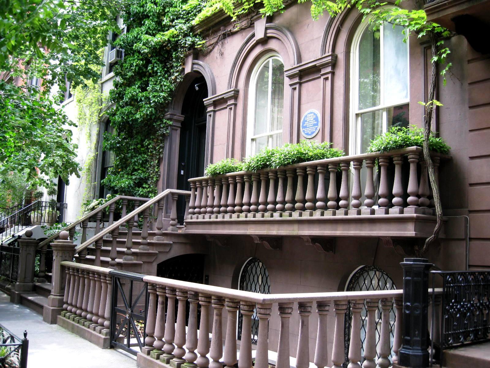 Emma Lazarus house nyc