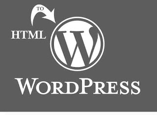 Transform static HTML-site in WordPress