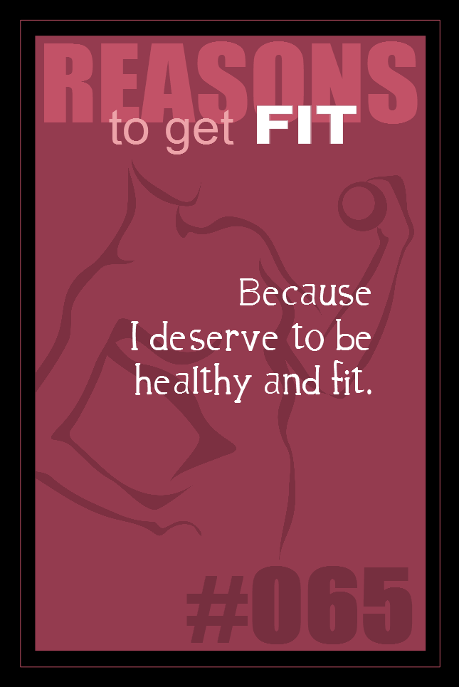 365 Reasons to Get Fit #065
