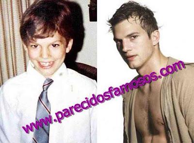 Ashton Kutcher antes y después