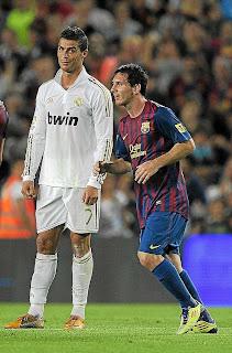 Messi y Cristiano Ronaldo la rompieron en el 2011